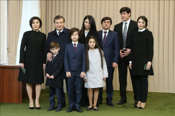 mirziyayev-ailesi