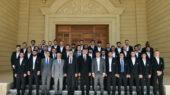 Prezident Qarabag futbolculari ile