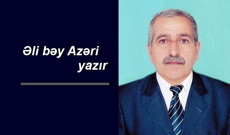 Ali bey Azeri